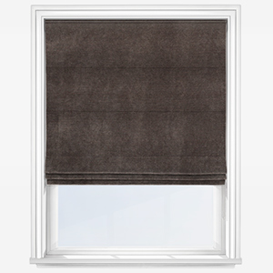 Touched By Design Milan Espresso Roman Blind