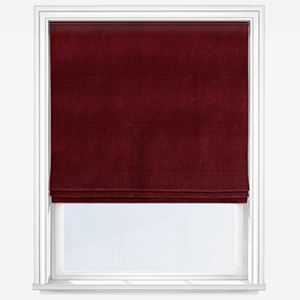 Touched By Design Milan Rosso Roman Blind