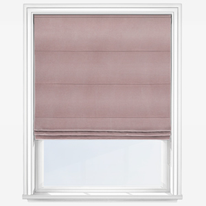 Touched By Design Milan Soft Rose Roman Blind