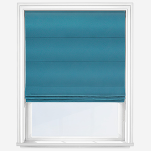 Touched By Design Pamuk Dark Teal Roman Blind