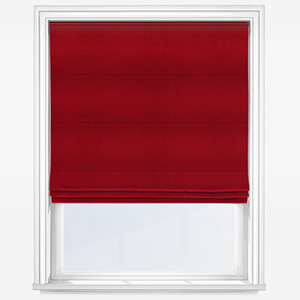 Touched by Design Panama Red Roman Blind