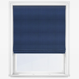 Touched by Design Panama Royal Blue Roman Blind