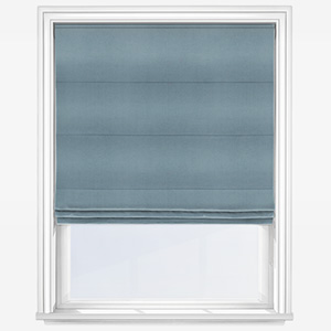 Touched by Design Panama Sky Blue Roman Blind