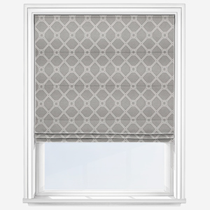 Touched By Design Valka French Grey Roman Blind