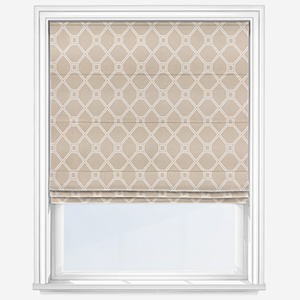 Touched By Design Valka Natural Roman Blind