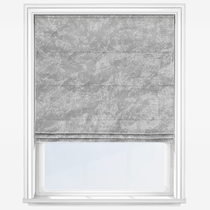 Touched By Design Venice Silver Roman Blind