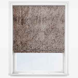 Touched By Design Venice Truffle Roman Blind