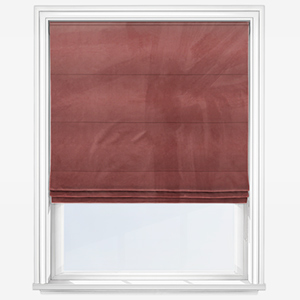 Touched By Design Verona Old Rose Roman Blind