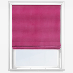 Touched By Design Verona Orchid Pink Roman Blind