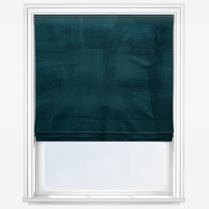 Touched By Design Verona Teal Roman Blind