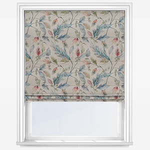 Voyage Danbury Pomegranate Roman Blind
