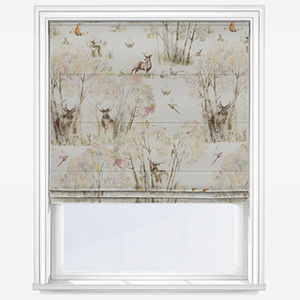 Voyage Enchanted Forest  Roman Blind