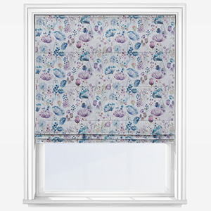Voyage Meadow Linen Roman Blind