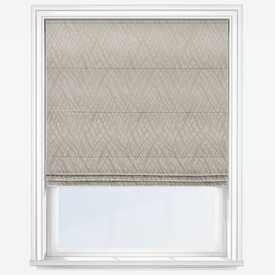 Ashley Wilde Vittata Linen Roman Blind