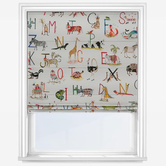 Prestigious Textiles Animal Alphabet Paintbox roman