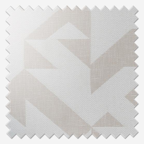 Casadeco Tissus Berlin Puzzle Blanc roman