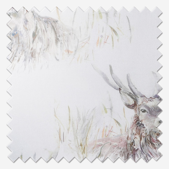 Voyage Wallace Stag Linen Roman Blind