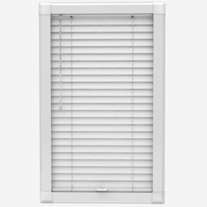 Premier Pure White Perfect Fit Wooden Blind