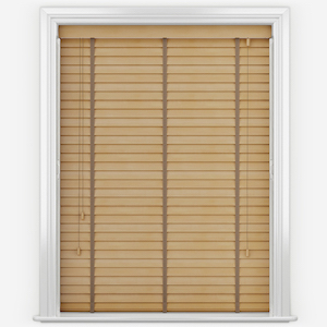 Dalby Birch Wood with Copper Tapes Wooden Venetian Blind
