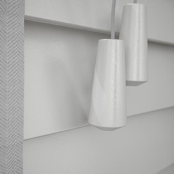 Designer Light Grey with Tapes venetian