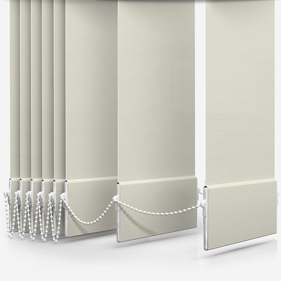 AquaLuxe Cream Vertical Blind Replacement Slats