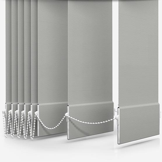 AquaLuxe Grey Vertical Blind Replacement Slats