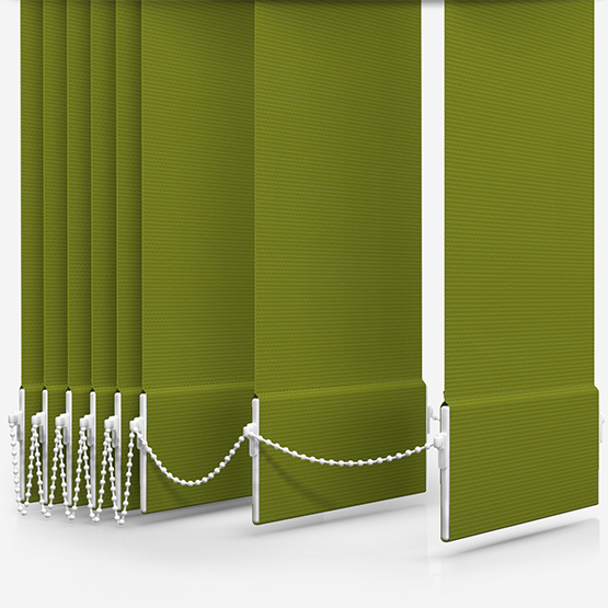 AquaLuxe Lime Vertical Blind Replacement Slats