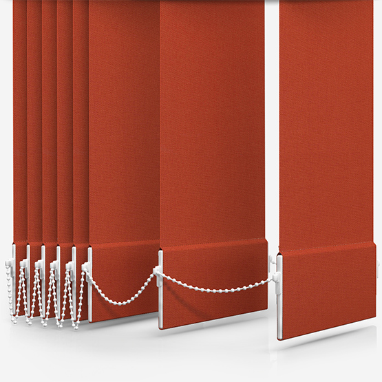 Arena Memphis Terracotta Vertical Blind Replacement Slats
