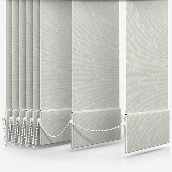 Louvolite Aura Cream vertical