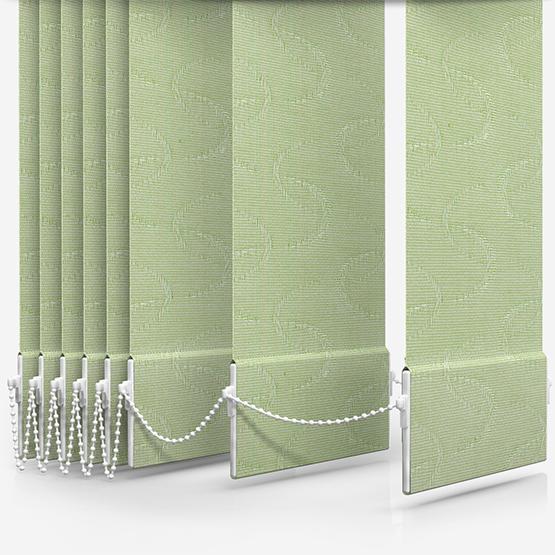 Louvolite Aura Emerald Vertical Blind Replacement Slats