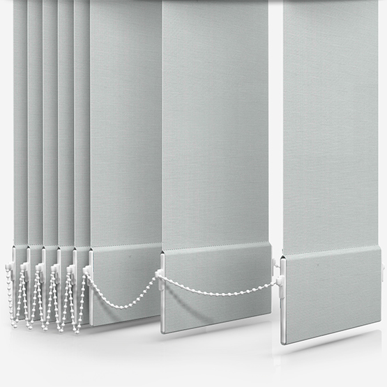 Basix White Vertical Blind Replacement Slats