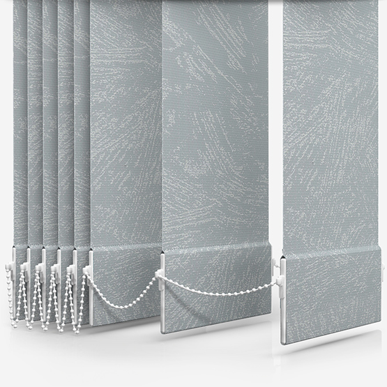 Romany Light Grey Vertical Blind Replacement Slats