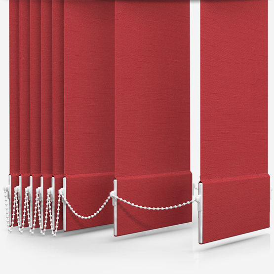Touched By Design Deluxe Plain Coral Vertical Blind Replacement Slats