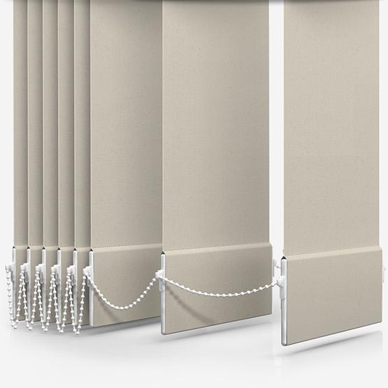 Deluxe Plain Cream Vertical Blind Replacement Slats