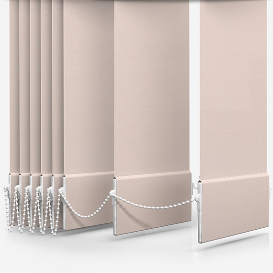 Touched By Design Deluxe Plain Lace Vertical Blind Replacement Slats