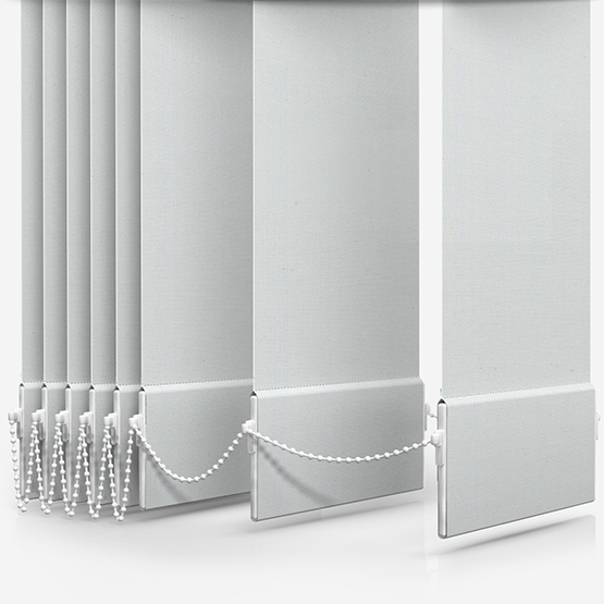 Deluxe Plain White Vertical Blind Replacement Slats