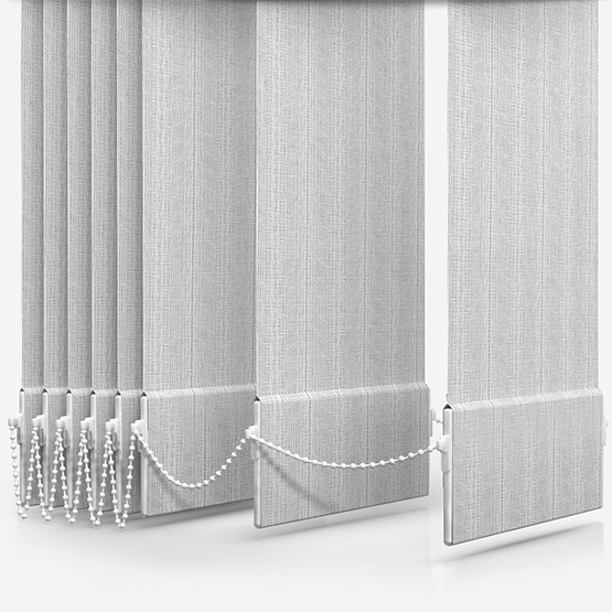 Touched by Design Herringbone White vertical