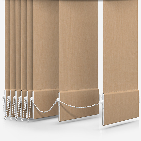Optima Dimout Beige Vertical Blind Replacement Slats