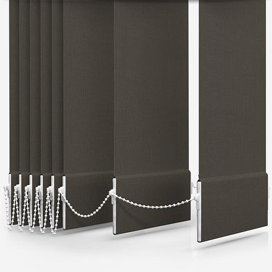 Optima Dimout Dark Grey Vertical Blind Replacement Slats