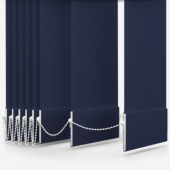 Optima Dimout Navy Vertical Blind Replacement Slats