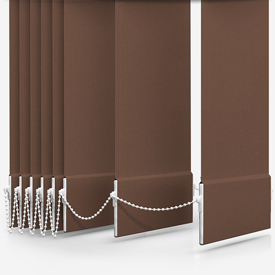 Optima Dimout Taupe Vertical Blind Replacement Slats