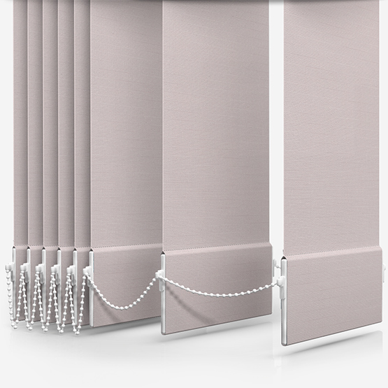 Touched By Design Supreme Blackout Lace Vertical Blind Replacement Slats