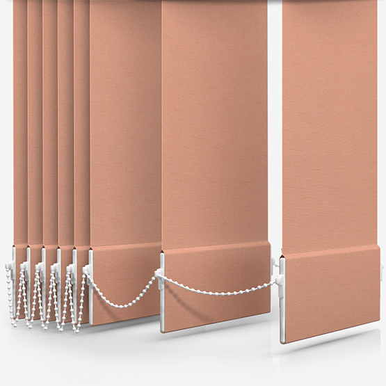 Touched By Design Supreme Blackout Papaya Vertical Blind Replacement Slats
