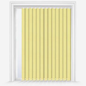 AquaLuxe Buttercup Yellow Vertical Blind