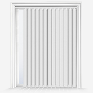 AquaLuxe White Vertical Blind