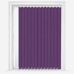 Louvolite Carnival Purple Vertical Blind