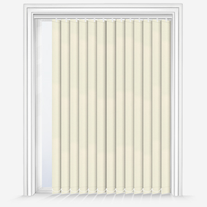 Touched By Design Absolute Blackout Cream Vertical Blind