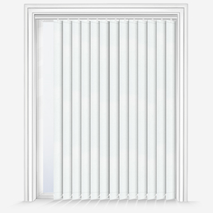 Touched By Design Absolute Blackout Prime White Vertical Blind