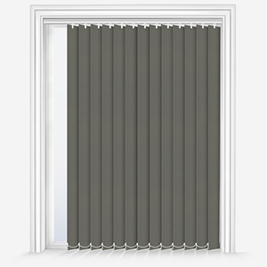 Touched By Design Absolute Blackout Taupe Vertical Blind