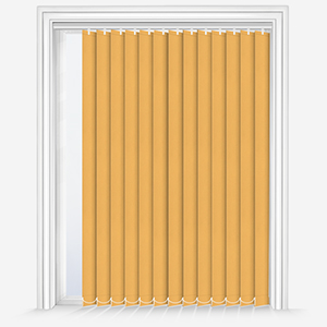 Touched By Design Absolute Blackout Yellow Vertical Blind